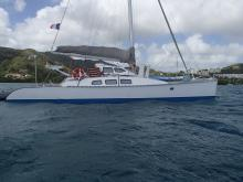 Outremer 40 extended to 43 : Anchorage in Martinique